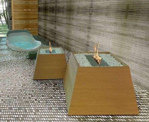 Bio-ethanol Fireplace by Brandoni – Maya