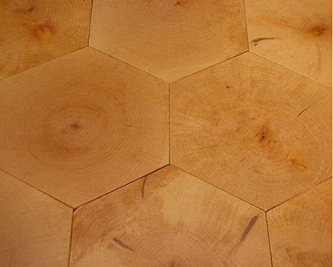 Wood Tile Floor From Broadleaf The Contemporary Wooden