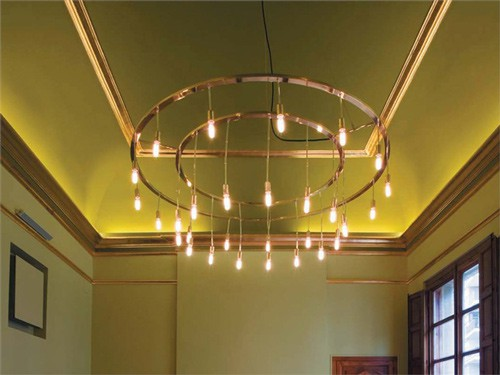 Brass ceiling chandeliers by barcelona design modern with medieval brass ceiling chandeliers bd barcelona design 5g aloadofball Image collections