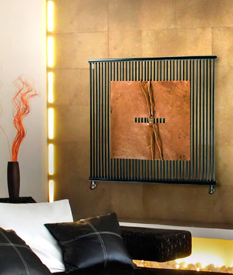 brem radiator bremart il dono di ra Decorative Radiators from Brem   new Art collection