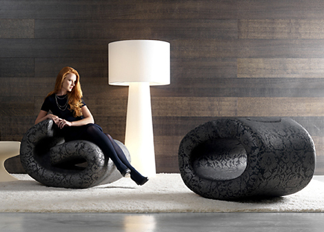 Unique Chair Designs - Eklipse chairs by BRF