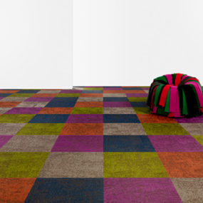 Bright Colored Carpet by Bolon