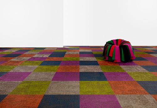Bright Colored Carpet by Bolon