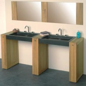 Teak bathroom furniture from Bristol and Bath