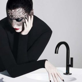 Hands-Free Bathroom Faucets by Brizo – Jason Wu collection