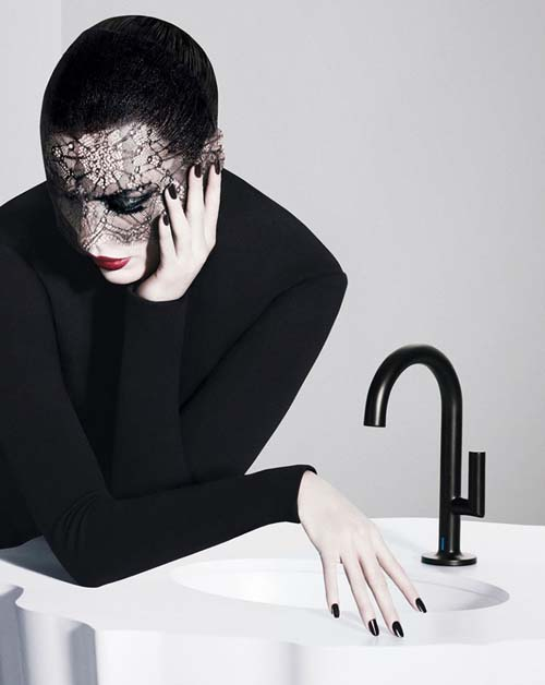 Hands-Free Bathroom Faucets by Brizo - Jason Wu collection