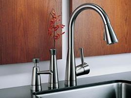 Brizo 63700-PCSD Venuto kitchen faucet – nice ensemble