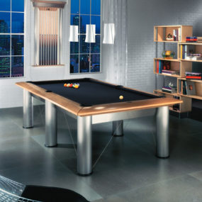 Modern Billiards Table from Brunswick Billiards – the new high-end Manhattan