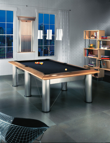 Modern Billiards Table From Brunswick Billiards The New Highend - New brunswick pool table