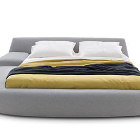 Italian Designer Beds – Asymmetrical Bed 'Bug' by Poliform