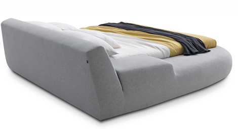 bug bed poliform back Italian Designer Beds   Asymmetrical Bed Bug by Poliform