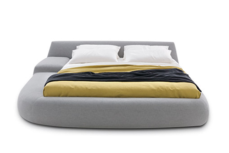 bug bed poliform Italian Designer Beds   Asymmetrical Bed Bug by Poliform