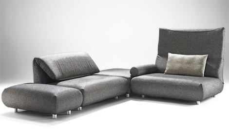 bullfrogsofa Casual Contemporary Sofa from Bullfrog Design