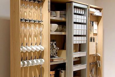 Bulthaup B2 kitchen pantry