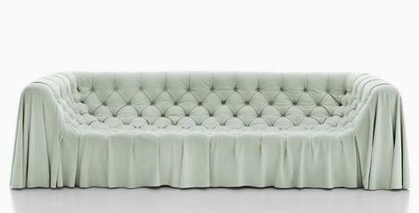 busnelli bohemien sofa1 Sumptuous Sofas by Busnelli   draped Bohemian