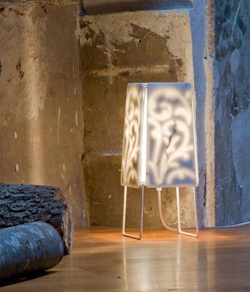 cabelliluce lamp damasco 1 Italian Alabaster Lamps and Alabaster Pendants by Cabelliluce