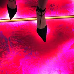 Liquifloor by Cafe Interiors – interactive floor tiles