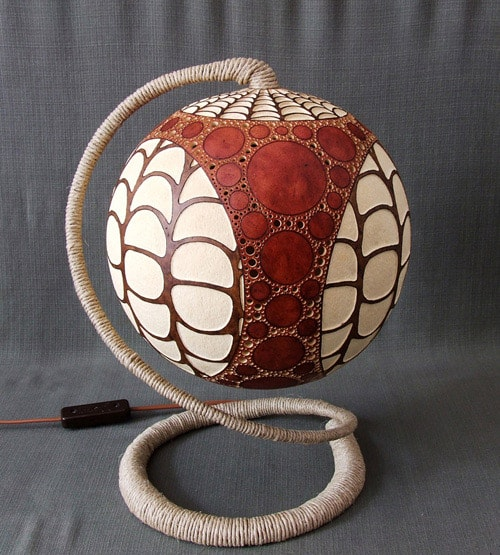 calabarte gourd lamp 3
