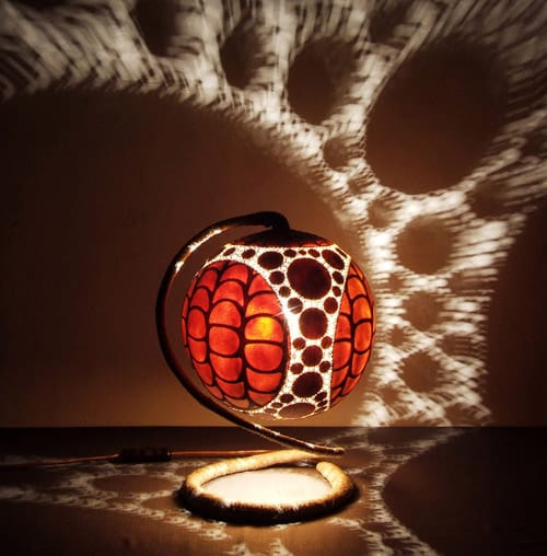 Exotic Table Lamps By Calabarte