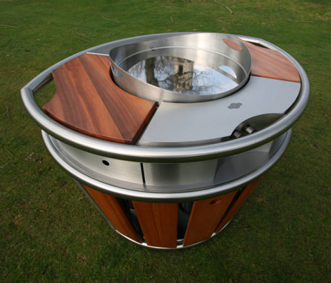 Calanc Outdoor Kitchen Christophe 2 Mobile On Wheels Portable Kitchens By