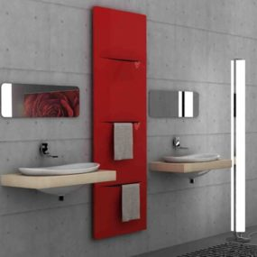 Steel Radiator from Caleido – Cut is multifunctional