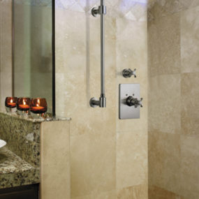 Shower Column by California Faucets – the new 'exposed' shower design