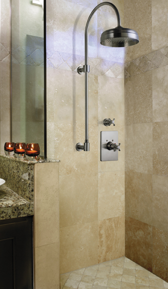 california shower column Shower Column by California Faucets   the new exposed shower design