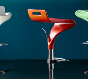 Contemporary Bar chair from Cape Furniture – the Concord adjustable swivel bar chairs
