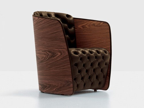 capitone chair nube sir 2 Capitone Chair by Nube   Sir armchair by Carlo Colombo