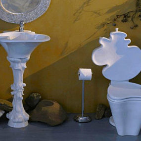 Gaudi bathroom collection – new Organic Art by Capizzi