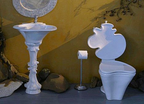 capizzi antoni gaudi bathroom collection Gaudi bathroom collection   new Organic Art by Capizzi