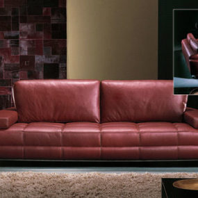 Contemporary Sofa from Casa Nova – the leather sofa Carmel