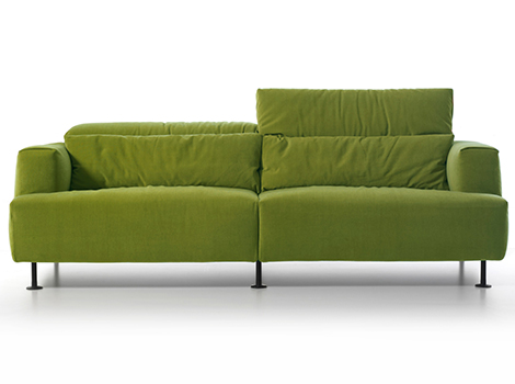 Cassina Aire Sofa1 Light Green Sofa Aire By Cassina Disassemblable And  Recyclable