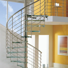 Modern Staircase from Cast for a Breath-taking Weightless Look!