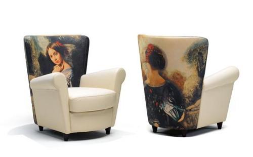 caterina chair idp italia 2 Artistic Upholstery Chair   Caterina by IDP Italia