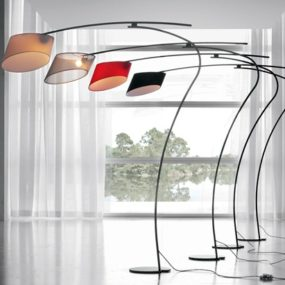 Modern Floor Lamp from Cattelan Italia – Flag by designer Emanuele Zenere