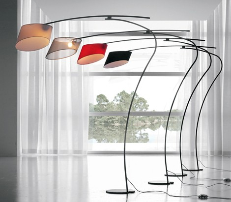 cattelan italia floor lamp flag 1 Modern Floor Lamp from Cattelan Italia   Flag by designer Emanuele Zenere