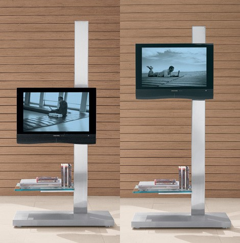 cattelan italia tv console stand hollywood dolce vita 1 Plasma LCD TV Console Stand from Cattelan Italia   asymmetric Hollywood and Dolce Vita