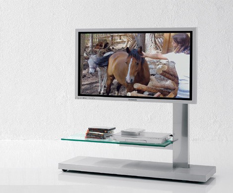 Plasma LCD TV Console Stand from Cattelan Italia – asymmetric Hollywood and Dolce Vita