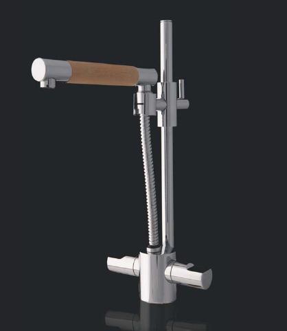 cazana faucet vertigo 1 Bathroom Faucet from Cazana Design   Vertigo faucet