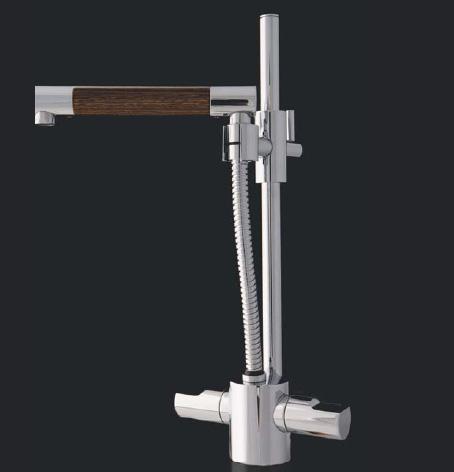 cazana faucet vertigo 2 Bathroom Faucet from Cazana Design   Vertigo faucet