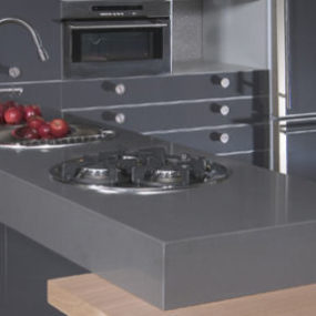 Concrete countertops from CaesarStone