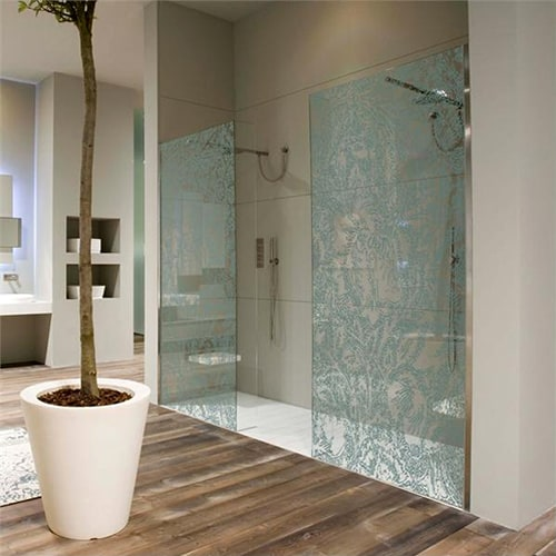 ceative shower screen romancing designs antonio lupi 1 Creative Shower Screen   Romancing Designs by Antonio Lupi