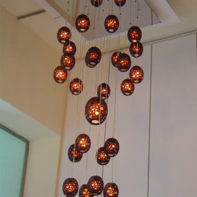 Artistic Ceiling Lamps by MGX – Minishakes lights