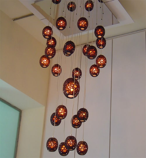 ceiling pendants lights aric levy mgx minishakes 1 Artistic Ceiling Lamps by MGX   Minishakes lights