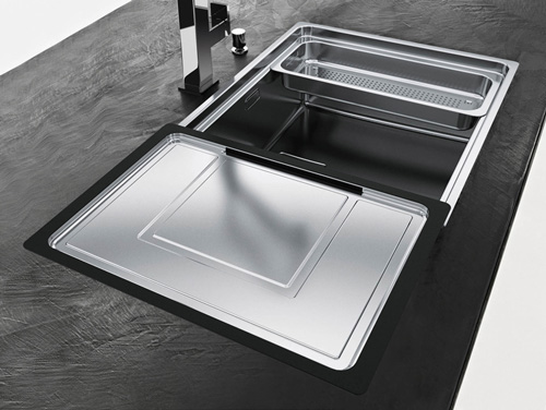 centinox kitchen sink franke new 2011 1 Centinox Kitchen Sink by Franke   new for 2011