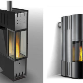 Design Fireplace from Cera Design – new P1 fireplaces controlled by mobile phone!