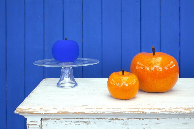 Ceramic Apple Sculptures, and tasty tidbits by Bull&Stein