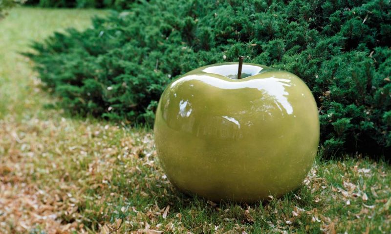 Ceramic Apple Sculptures And Tasty Tidbits By Bull Stein