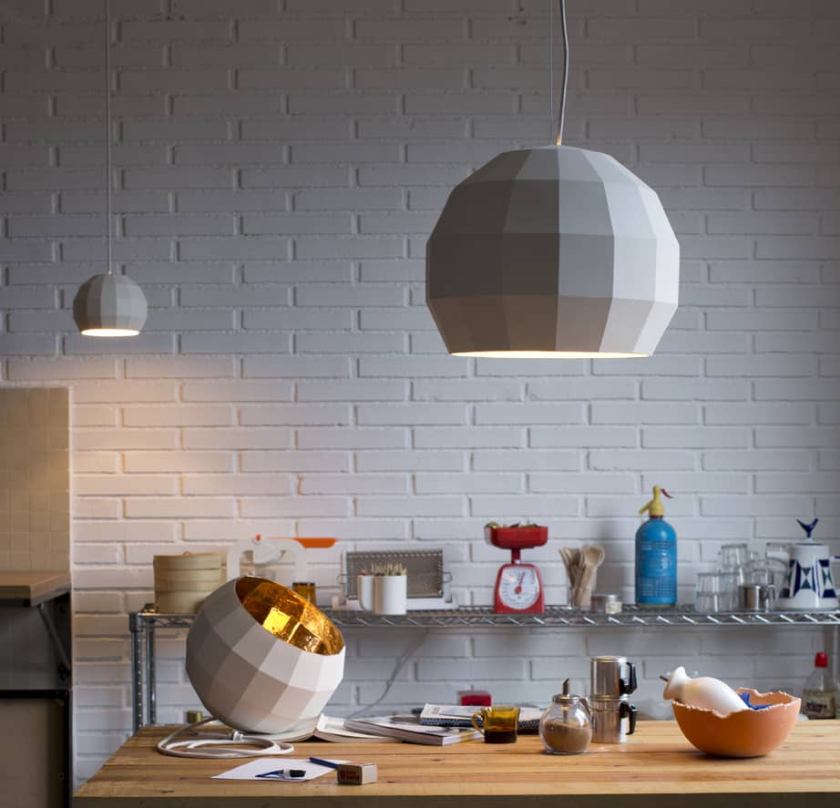 Ceramic Lamps Inspired by Disco Ball – Scotch Club from Marset